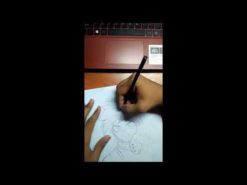 Drawing Deku/Izuku Midoriya from My Hero Academia