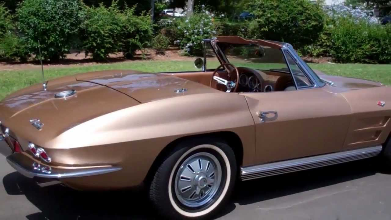 SOLD 1964 Saddle Tan Corvette Convertible For Sale By