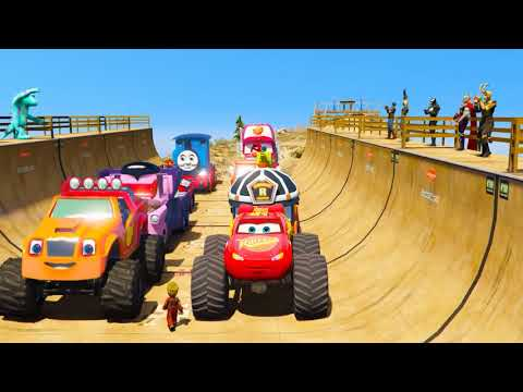 Learn Shapes And Race Monster Trucks - TOYS (Part 3)   Videos For Children from YouTube · Duration:  14 minutes 49 seconds