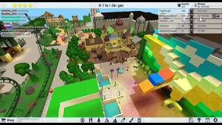 Roblox theme park tycoon Symbolica (Efteling)
