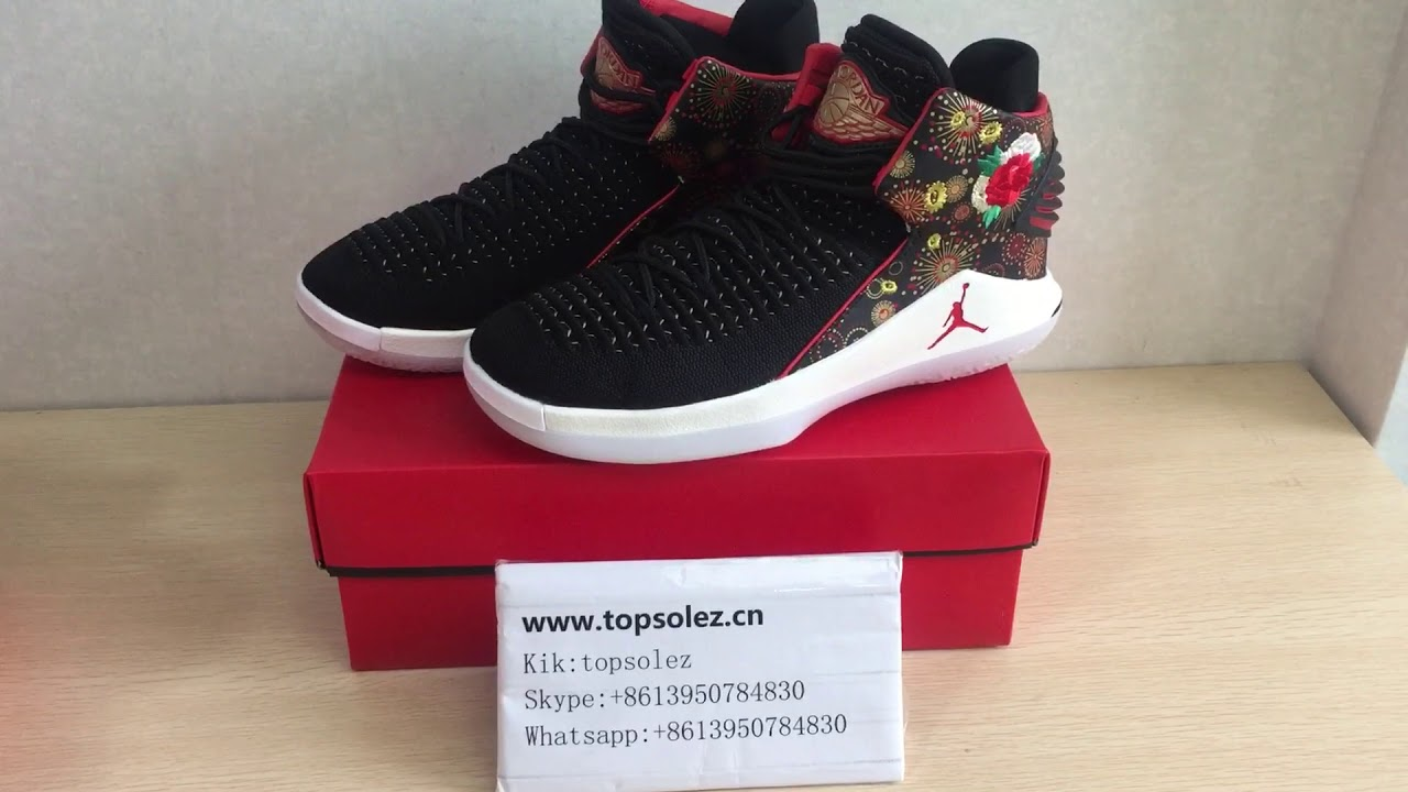 79517b346b6803 Air Jordan 32 Chinese New Year - YouTube
