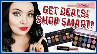 THE BEST TIPS FOR MAKEUP SHOPPING & GETTING DEALS!