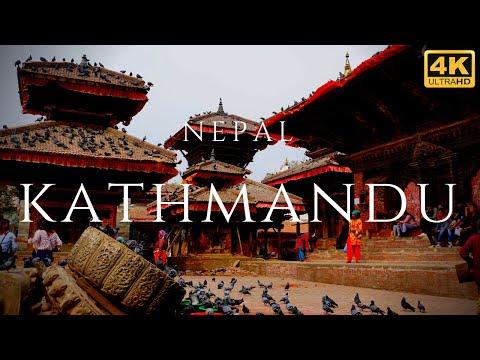 Kathmandu Nepal 4K City Tour