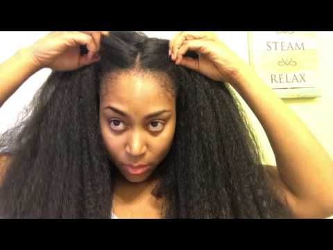 How To: Install and Straighten Your Crochet Braids