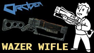 Fallout 3 Unique Weapons - Wazer Wifle