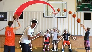 CRAZY Buzzer-Beater Basketball Shooting Challenge