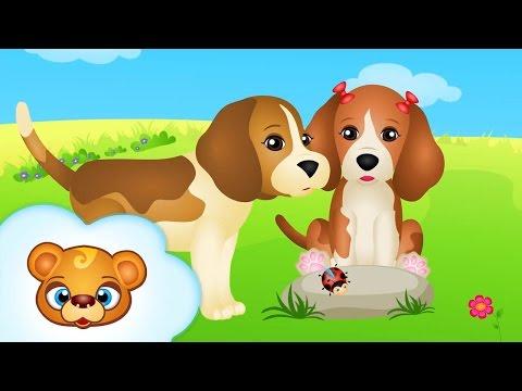 Piosenki dla Dzieci - Pieski Małe Dwa - RosNutki