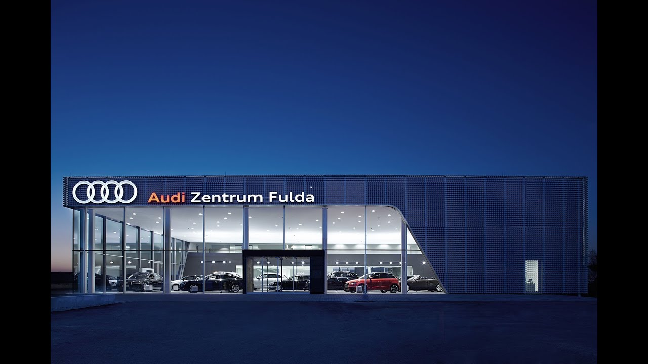 audi zentrum fulda youtube. Black Bedroom Furniture Sets. Home Design Ideas