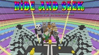 Minecraft Xbox: Hide and Seek {Ultimate Rainbow}
