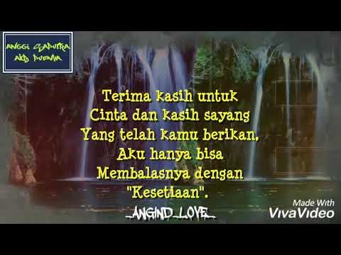 Download Video Kata Kata Ucapan Terima Kasih Buat Pacar