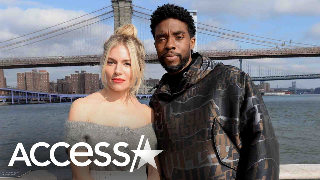 Chadwick Boseman Took Pay Cut To Raise Sienna Miller's Salary