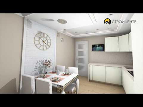 Стройцентр - Объект 70м2 квартира Брянск.