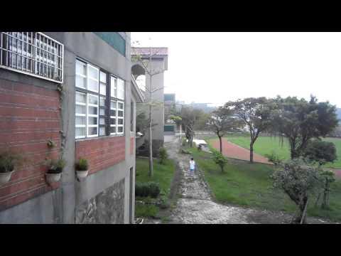 nice elementary school in Yilan off-shore pacific ocean