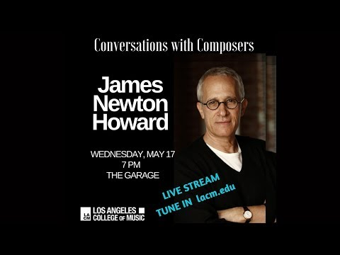 LACM Presents Conversations with Composers / James Newton Howard