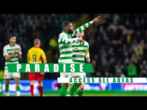 📹 Paradise: Access All Areas | Hoops through to semi-final! | Celtic 5-0 Partick Thistle