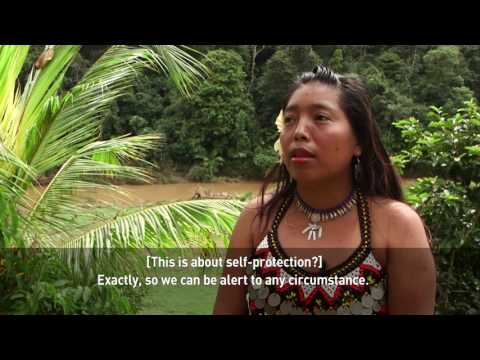 A tribe in Panama uses drones to protect their territory