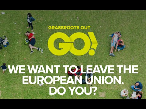 Grassroots Out Rally (19/02/2016) #Brexit