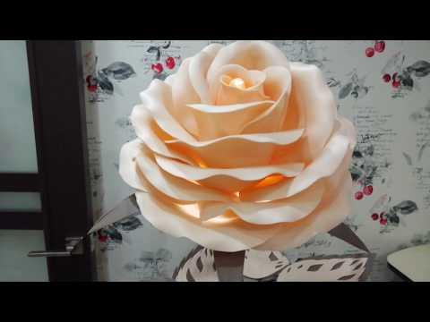 Обзор Розы торшер из изолона