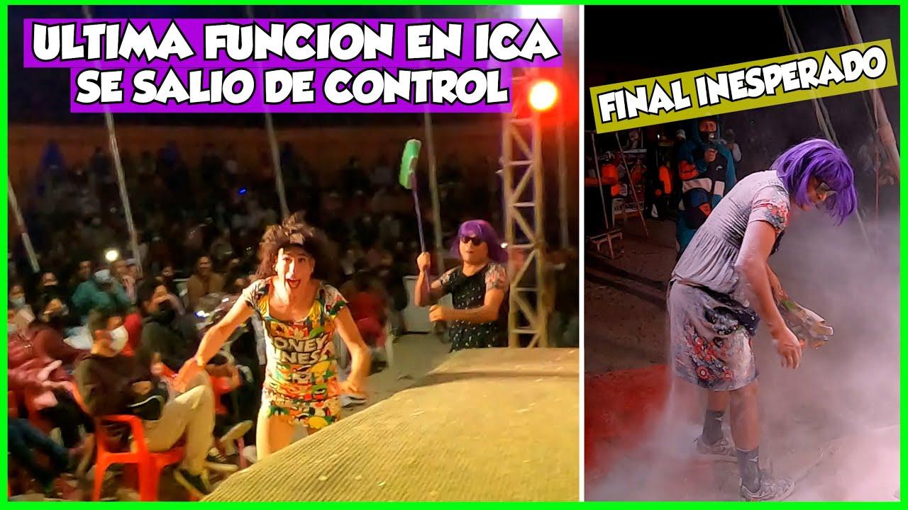 """ULTIMA FUNCION DEL CIRCO SE SALIO DE CONTROL """"FINAL INESPERADO"""" - ICA"""