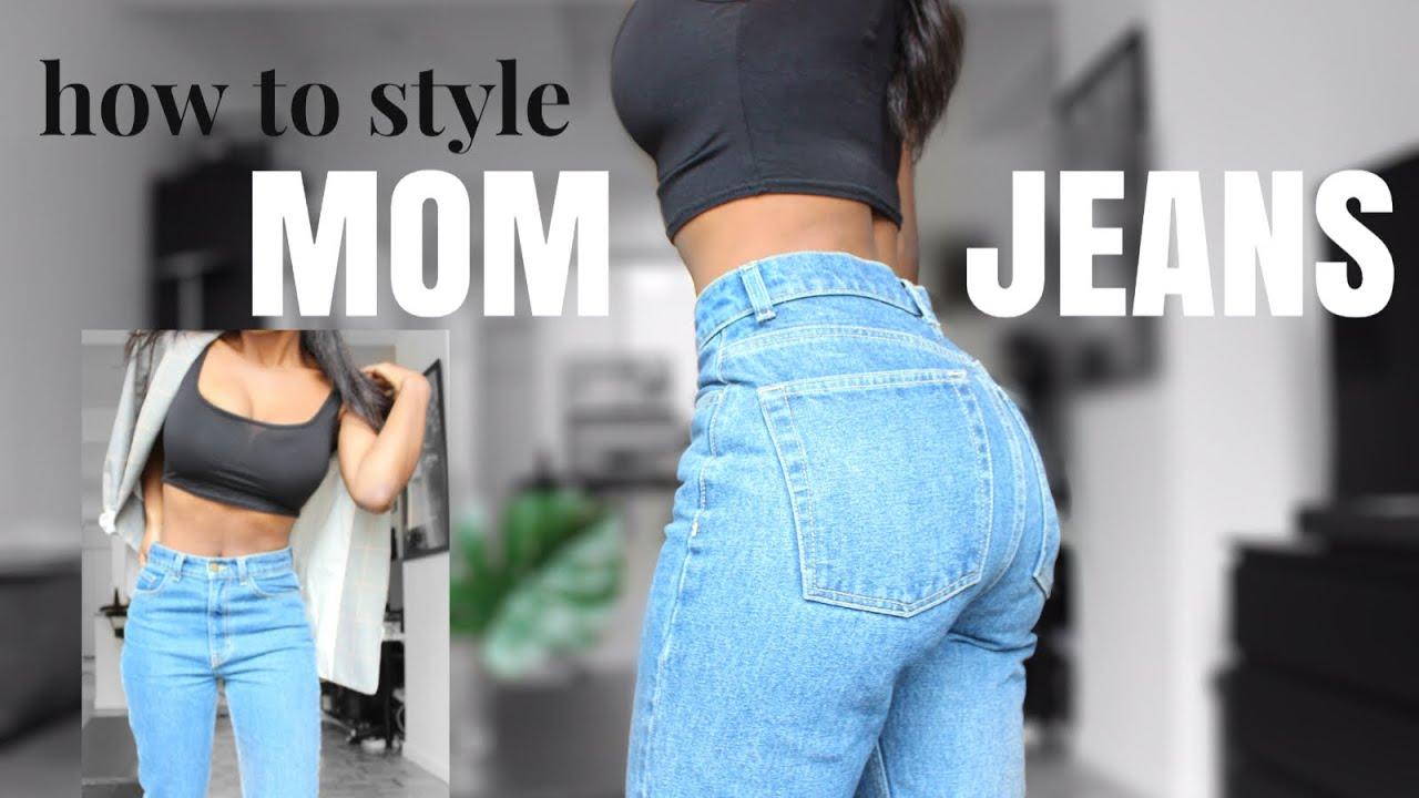 [VIDEO] - MOM JEANS -HOW TO STYLE 5 WAYS | SPRING 2019 2