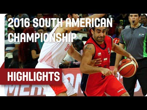 Peru (PER) v Chile (CHI) - Game Highlights - Group A - 2016 South American Championship