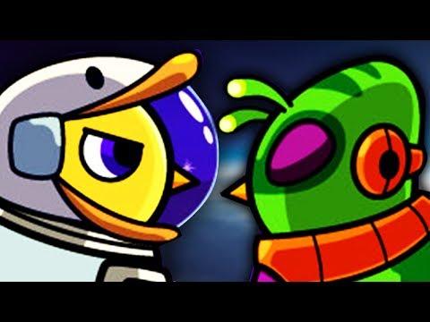 ALIENS KLAUEN MEINE KRONE !!!  Duck Life Space