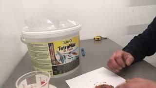 Обзор Корм для рыб Tetra Min хлопья Германия для аквариума