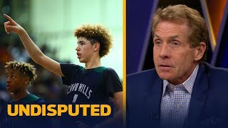skip on lavar ball pulling lamelo out of high school this is a recipe for disaster   undisputed