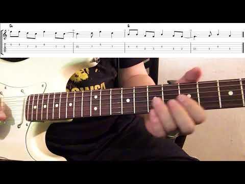 Sunshine Reggae Guitar Lesson (w/Tabs)