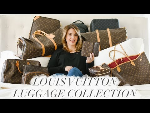 LOUIS VUITTON LUGGAGE COLLECTION