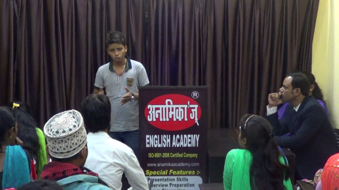 GST Goods And Service Tax Elocution At Anamikau0027s English Academy