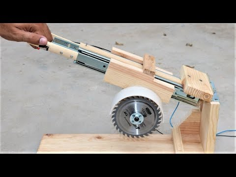 How to Make Your Own Mini Miter Saw, Jigsaw, Drill and More