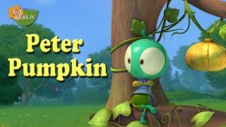 """PETER PUMPKIN"" NURSERY RHYMES ANIMATION BIG BEES JUNIOR HQ HD CHILDREN PRESCHOOL"