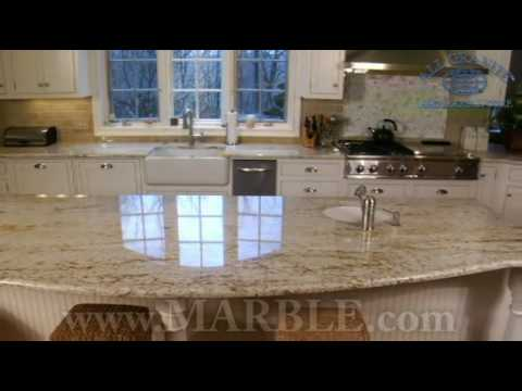 Colonial Gold Granite Countertops   YouTube