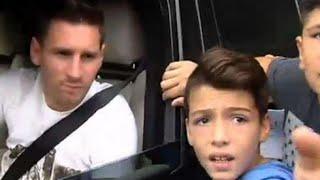 Lionel Messi deja en shock a niño que lo vio por primera vez en directo