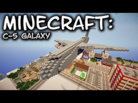 Minecraft: Lockheed C-5 Galaxy