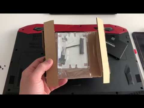 Acer Predator Helios 300 Add Hard Drive/ Solid State Install HDD/ SSD