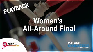FIG WORLD CHAMPIONSHIP REPLAY: Stuttgart 2019 Women's All-Around Final