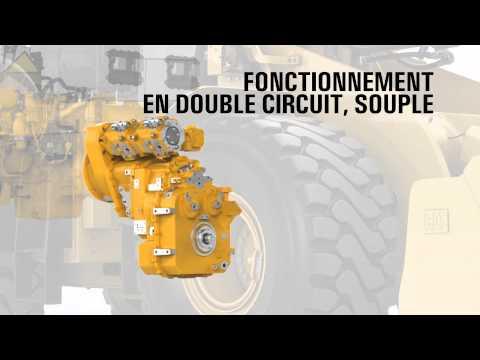 Cat® 966K XE Wheel Loader | Transmission (French)