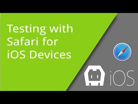 Mobile Web And Hybrid App Testing With Safari And IOS Devices