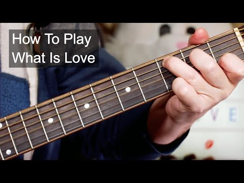 'What is Love' Haddaway Acoustic Guitar Lesson