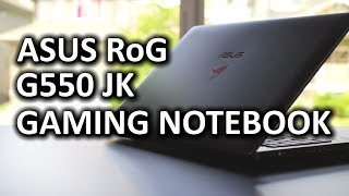 ASUS RoG G550JK Gaming Notebook & Surprise....