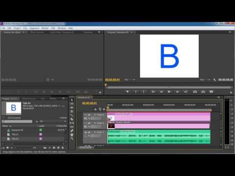 Slow motion effect in adobe premiere cs6