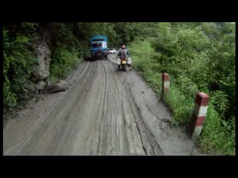 GlobeBusters - Mud Roads in Eastern Tibet  - Silk Road 2010