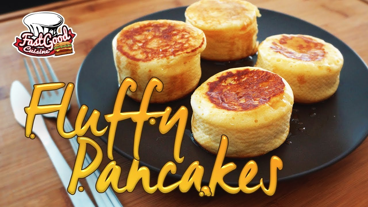 Recette Des Fluffy Pancakes A Tester Rapidement Youtube