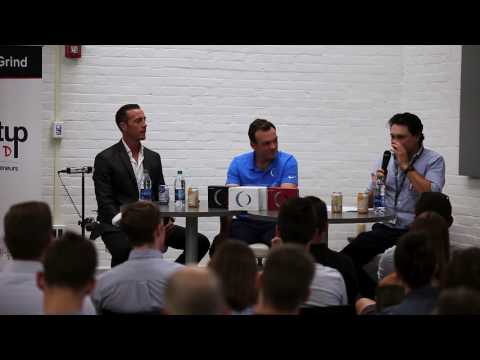 Bret Blakely and Steve Coulton of OnCore Golf - Startup Grind Buffalo