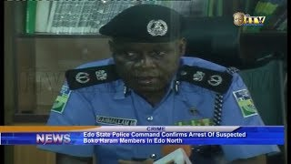 Edo police confirms arrest of suspected Boko Haram members in Edo North