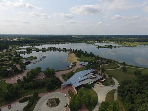 Independence Grove, Libertyville, il Drone footage