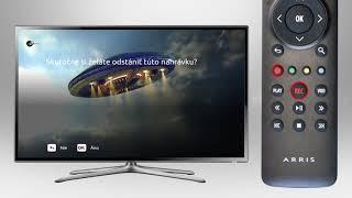 Diaľkový ovládač k STB - videomanuál