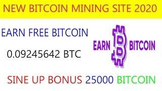 New Bitcoin Mining Site 2020  Best Free Bitcoin Mining Site 2020